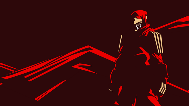 Ninja Slayer Vector Wallpaper by herrerarausaure