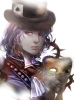 _As mad as a hatter_ by Athena-chan