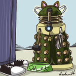 The Lonely Dalek by Hinderence