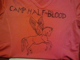 camp half blood t-shirt by drummergirl221
