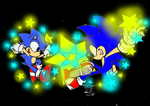 Star Studded Sonics contest entry for feniiku by zacktheawesomeguy