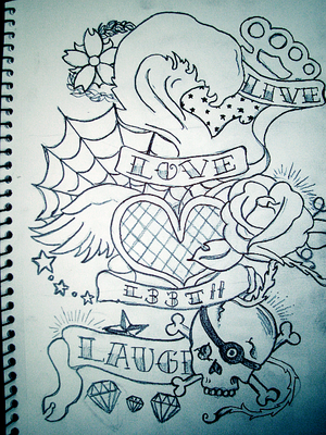 live laugh love tattoos. live love laugh tattoo