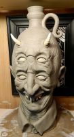 Four-Eyed Devil Jug- WIP by thebigduluth