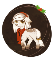 [OTA] Christmas Deer Pony Adopt [CLOSED] by StyxLady