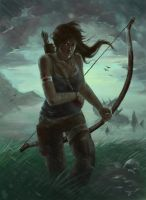 Tomb Rider Reborn Contest - Storm by ZVilka