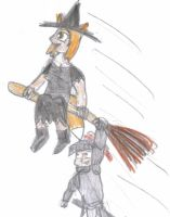 Dusty and DJ's costumes by supernanny191