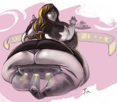 Tifa Secretary 4 by the-murdellicious