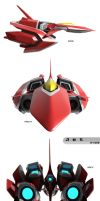 un-named jet thing by Xeno-striker