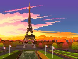 ParisWorld Solitaire - Paris by ZEBES