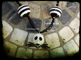 Jack Skellington necklace only one piece FOR SALE by Little-Psycho-Lilith