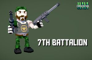 7th Battalion by badbuckle