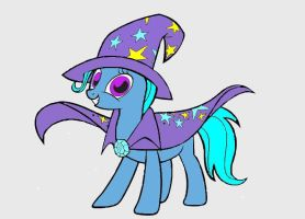 MLP Trixie by studentofdust