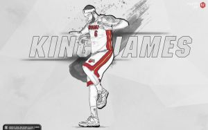 Lebron James 'THE KING' wallpaper by Kevin-tmac