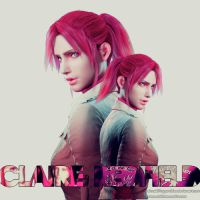 Claire Redfield, little Chris's sister by Elenakillingzombies