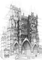 Gothic Cathedral by Kosa666