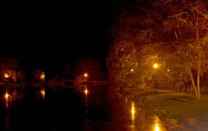 nightime reflections by Xxdevious1xX