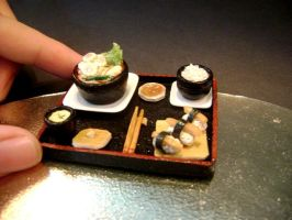 minifood: japanese lunch set by lovely301090