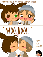 Awwww..... XD by RobotsWithCookies