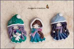 winter ladies by zingaracreativa
