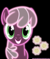 Neon Cheerilee by ZantyARZ