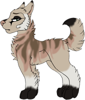 Canine Adopt (25 Points) CLOSED by Shadowhawk-Adopts