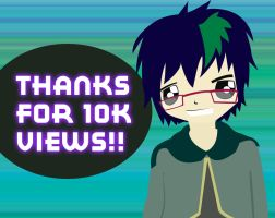 10K PAGEVIEWS for the win by yami-joey