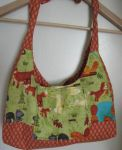 Forest Critters Handbag by AppleJuiceJadeDear