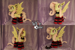 Flutterbat with Socks by WhiteDove-Creations