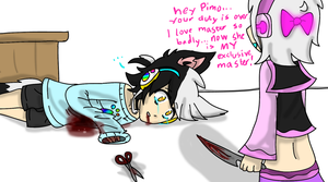 |:.Hey Pimo your duty is over.:| by J0LIA
