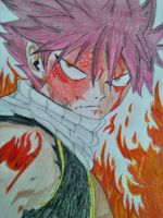 Natsu Dragneel - Dragon Force by RossoTigre