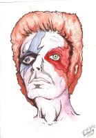 Bowie by thewickedrobot