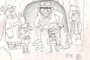 Gravity Falls by Ben-the-looney