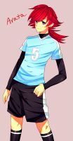 Inazuma OC-Arata by CaptainStrawberry