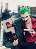 The Riddler Feat. The Joker - Smiling Princes by DashingTonyDrake