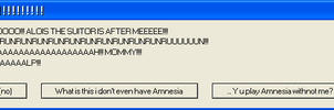My pc playing Amnesia withnot me XD by Neko-longtail