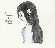 Marceline the Vampire queen by SnowblueXD