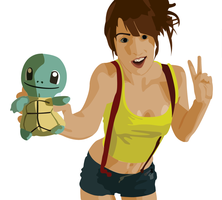 Squirtle Misty (WIP) by msellekman