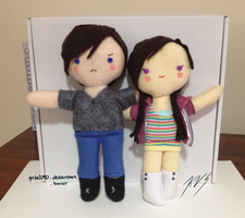 NK and Armen Dolls by gohe1090