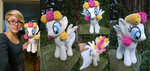 Lola Cloudmaker plush by Zombies8MyWaffle