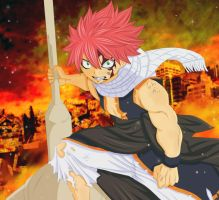 Dragon Slayer Natsu by fullmetaljuzz