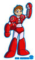Megawoman Collab - MM6 Power Suit by ryan-silverfox