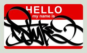 :Hello My Name Is: by c0nr4d