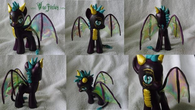 G4 Posable Mini Dragon Prototype by Cemetery-Nightmare
