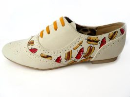 Cheeseburger Brogues 2 by ponychops