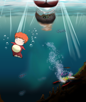 Original Ponyo Piece by headlight