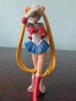 Sailor Moon Figurene by bittykitty