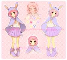 Adoptable Auction ::Lovely Bunny:: by oceantann