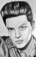 Bruno Mars. by Thessa-drawings