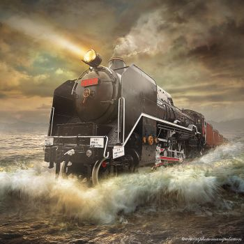 sea train by evenliu