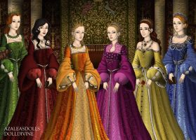 The Six Wives of Henry VIII by eternalkikyofan